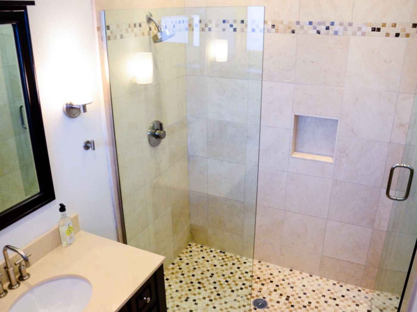 residence clairemont california small master bathroom remodel
